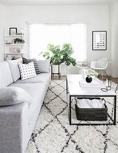 How to perfect your coffee table game in 3 simple steps for Inspiration ideas for black and white rug