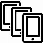 Icon Multiple Mobile Smartphones Icons Icons8 Ios