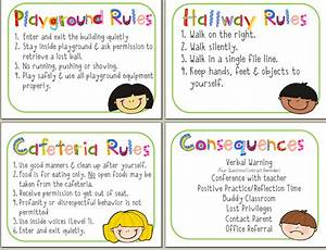 Consequence Chart For Classroom The Diary Of A Teachaholic Rules Rewards And