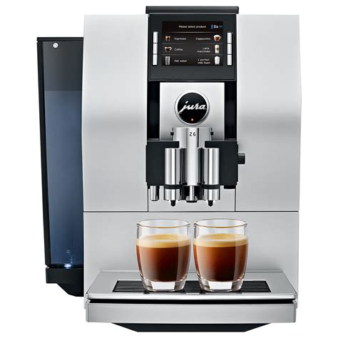 An auto shut off program is included in the machine for your safety. Jura Z6 - Coffee Solutions
