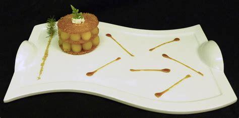 la recette du chef aveyronnais craquant aux pommes de pruines espuma r 233 glisse caramel de pin