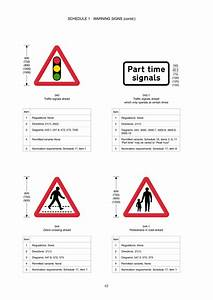 The Traffic Signs Regulations And General Directions 2002