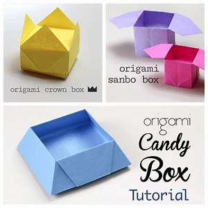 3 Easy Origami Boxes - Photo Instructions