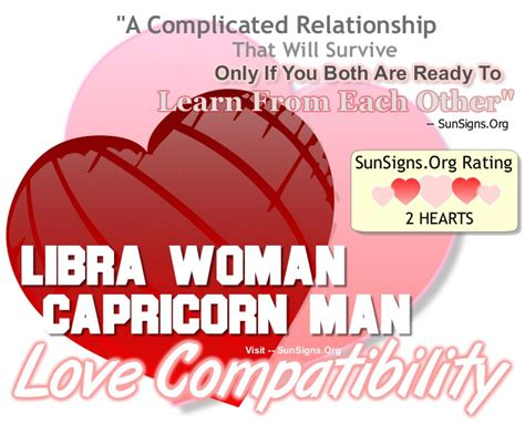 libra woman and capricorn man a complicated relationship