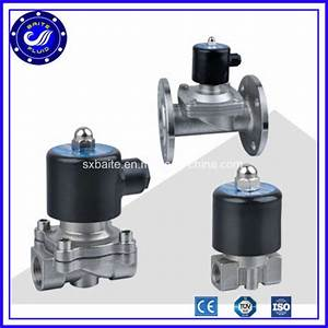 China Brass 1 Inch Water Solenoid Valve 220v Ac Flow