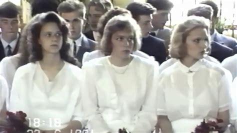 Talsu 1. vidusskolas 1991. gada izlaidums. - YouTube