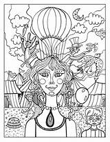 Circus Coloring Pages Printable Adult Colouring Sheet Lion Gecko Collection Print Behance Georgia Visit Bulldogs Getdrawings Rainbow Sheets Getcolorings Books sketch template
