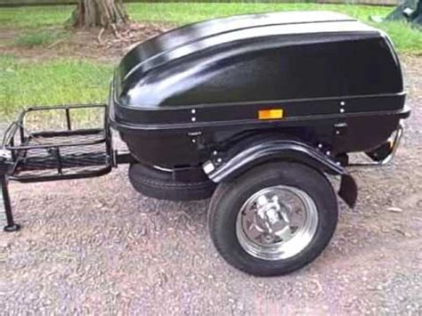 small car trailer lightweight cargo trailers youtube