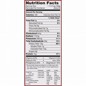 Kashi Go Lean Protein Bar Nutrition Facts - Nutrition Ftempo