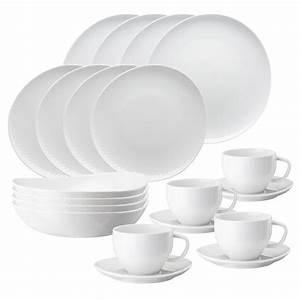 Geschirr Set Weiß : junto porzellan von rosenthal im set kaufen ~ Buech-reservation.com Haus und Dekorationen