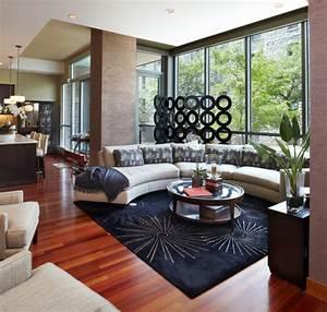Pflanzen Für Wohnzimmer : wohnzimmer modern einrichten 59 beispiele f r modernes innendesign ~ Markanthonyermac.com Haus und Dekorationen