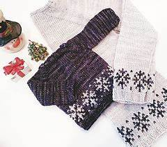 Cascade S Youth Size Chart Ravelry Snow Is Falling Junior Pattern By Kemmerer