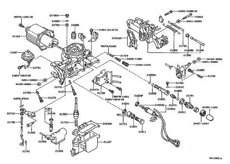 Toyota Pickup Carburetor Diagram