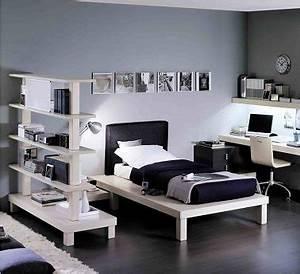 chambre ado fille pour une deco stylee deco cool With chambre fille noir et blanc