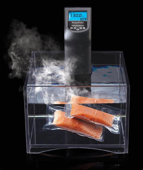 cuisine sous vide polyscience introduces sous vide circulator for casual