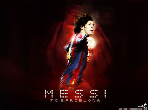 bureau ordinateur but wallpaper lionel messi