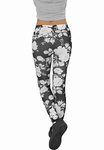 Blommiga leggings dam
