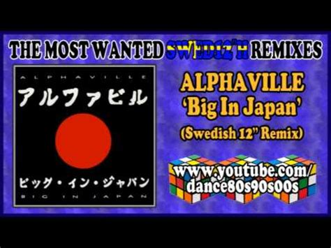 Alphaville  Big In Japan (swedish 12'' Remix) Youtube