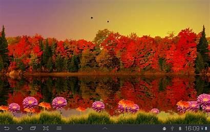 Fall Wallpapers Autumn Desktop Lake Google Android