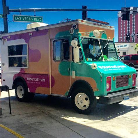 uber ice cream truck wrap geckowraps las vegas vehicle