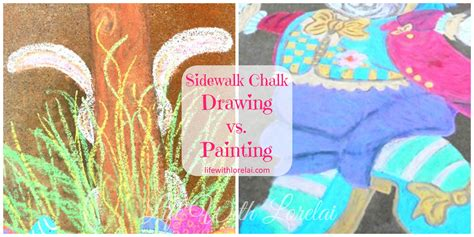 sidewalk chalk tutorial life  lorelai