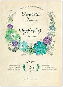 best 25 succulent wedding invitations ideas on pinterest With wedding invitations with succulents
