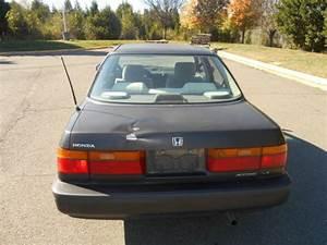 1990 Honda Accord Lx Sedan 4-door 2 2l Manual Transmission