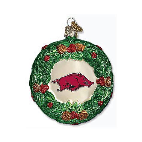 razorback wreath ornament