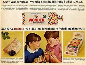 Vintage Wonder Bread ad | Vintage Cookbooks & Food Ads ...