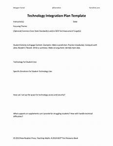 technology integration plan template With integration design document template