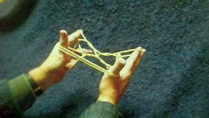 Slow motion how to make some Inuit string figures - YouTube