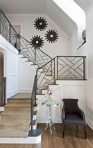Rampe D Escalier Moderne : le tapis pour escalier en 52 photos inspirantes ~ Melissatoandfro.com Idées de Décoration