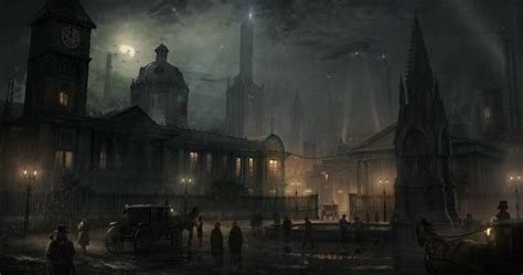 european cities  alternate neo victorian universe