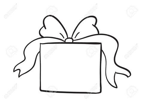 gift box clipart black  white  clipart station