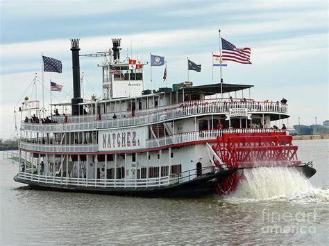 Boat Radio New Orleans nola natchez riverboat photograph by tudor