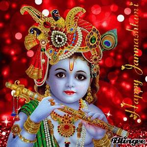 Happy Janmashtami Picture #136473160 | Blingee.com