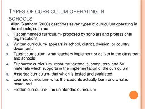 types of curriculum operating in schools mfacourses476 511 | curriculum de vt esg11 18 638