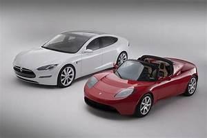Tesla Model S P90D La Voiture Modle Boitier Rouge