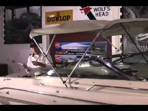 Boat Canopy Fittings Bcf by How Measuring Your Boat For Bimini Top Doovi