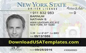 Fake Driver License Template
