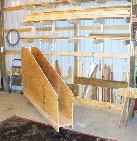 hinged sheet goods rack  knotcurser  lumberjockscom