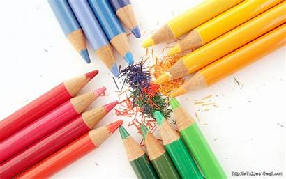 Creative Colorful Pencils Copy Windows Background Wallpapers