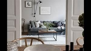 Interior, Design, Tour, Light, Grey, Scandinavian, Apartment