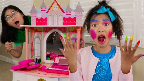 Wendy Pretend Play Dress Up & New Kids Make Up Toys  Youtube