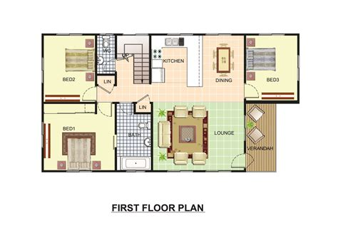 colored floor plans 3d renderings by sumedh waghmare at coroflot