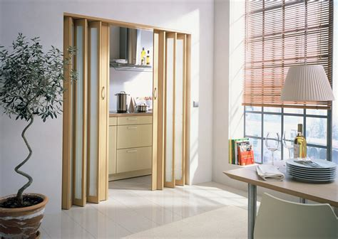 Excellent Bifold Doors As Living Room Divider With