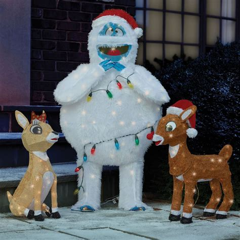 rudolph clarice  bumble lawn sculptures
