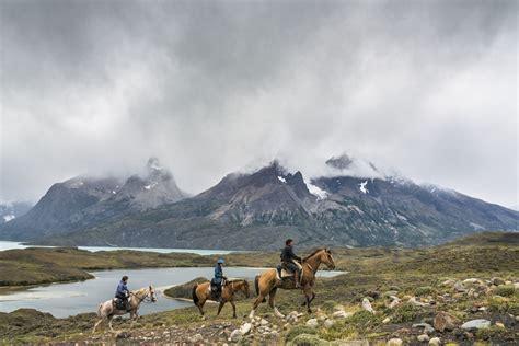riding gaucho paine del chile torres saddle horses national park horseback america south estancia peninsula places