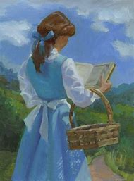 Beauty And The Beast Belle Disney Paintings