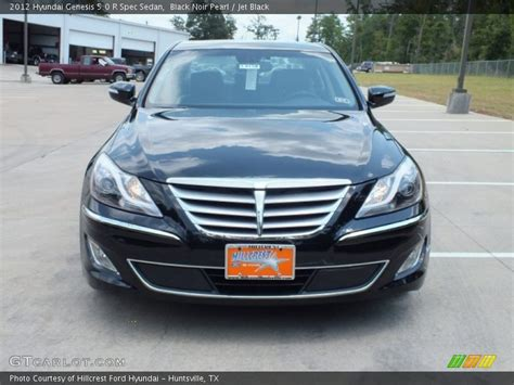 2012 Hyundai Genesis 5.0 R Spec Sedan In Black Noir Pearl